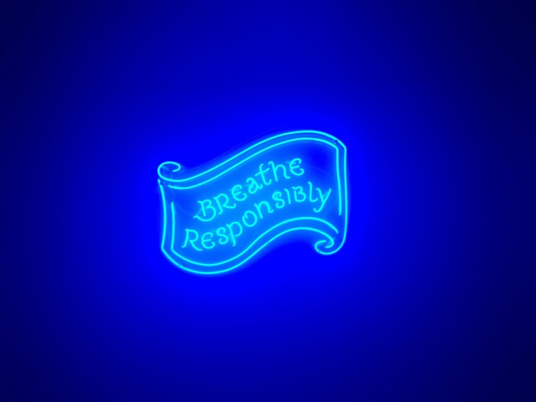 Breathe Responsibly at Alcoholic Architecture by Bompas & Parr. Photo: PC