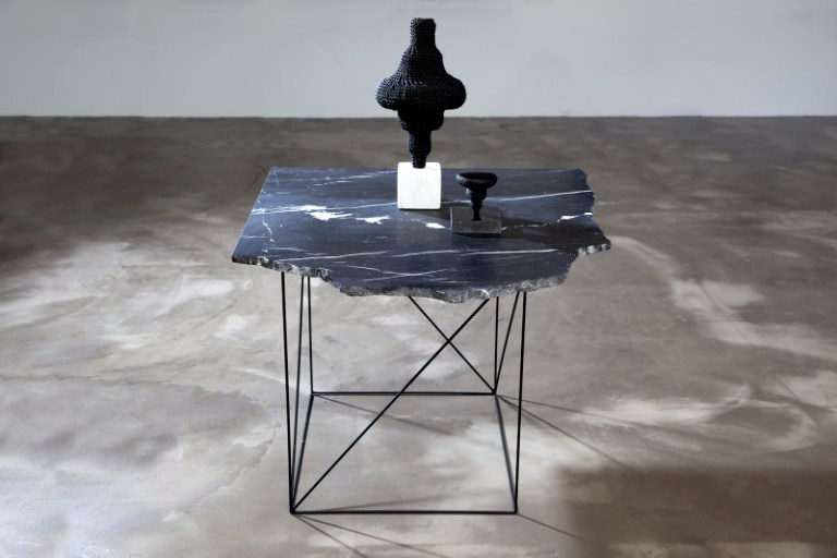 Black Marble Table, Scented Intoxication. Photo: Supplied
