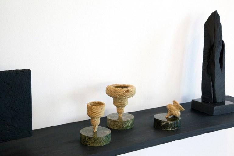 Vortex Vase and Totem. Photo: Supplied Australian Design Centre