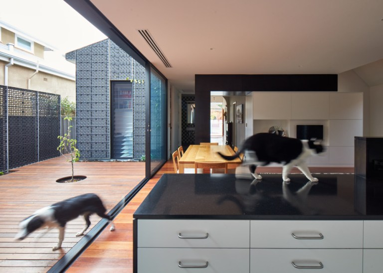Opening up completely, Camino House, designed by Bosske. Photo: Peter Bennetts