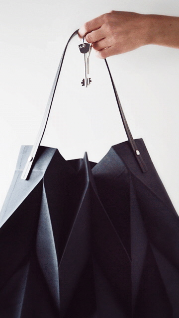 Iittala X Issey Miyake bag. Image: supplied