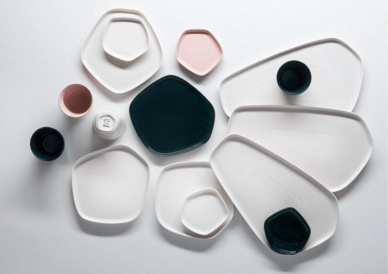Iittala X Issey Miyake ceramics. Image: supplied