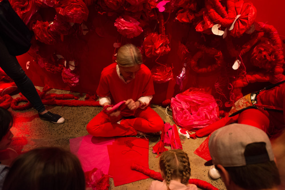 The Red Room by Hiromi Tango at Sydney Contemporary