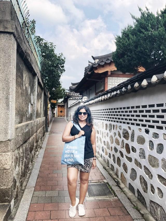 Streets of Bukchon Hanok Village