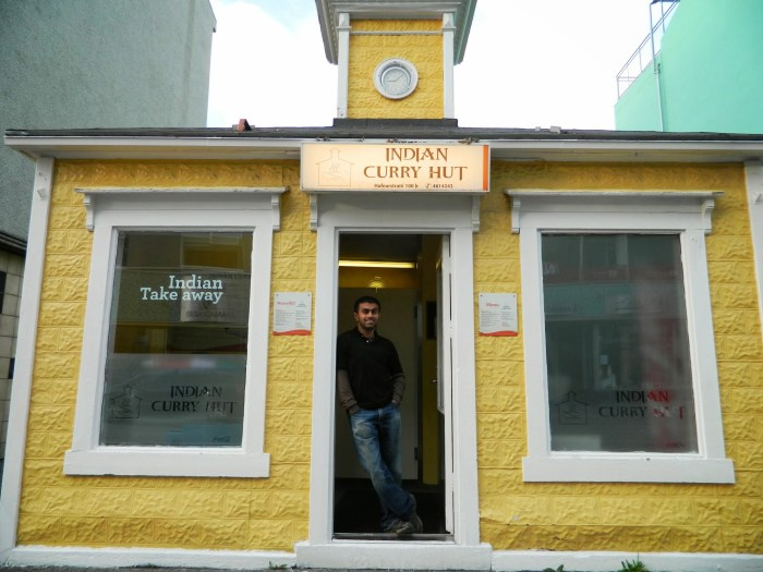 Indian Curry Hut in Akureyri