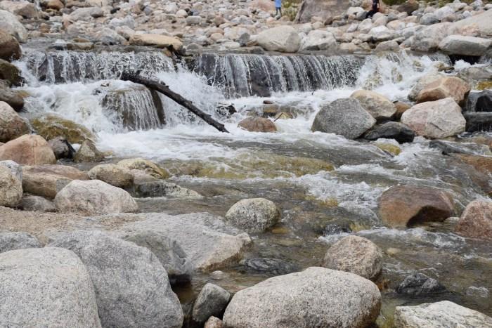 Alluvial fan trail in RMNP