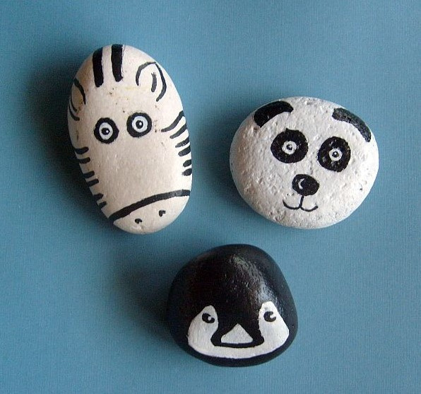 Amazing smooth pebbles for painting #animalpaintedrock #paintedrock #rockpainting #animalstoneart