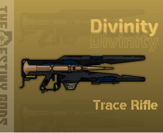 Divinity Exotic Trace Rifle