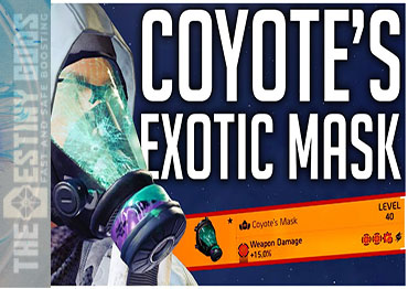 coyote's exotic mask