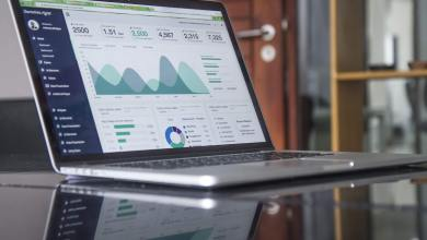 Statistics on a laptop, automation trends,iot predictions