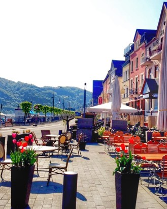 St. Goar bright and early in the morning