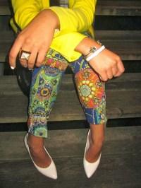 Loving these printed pants!