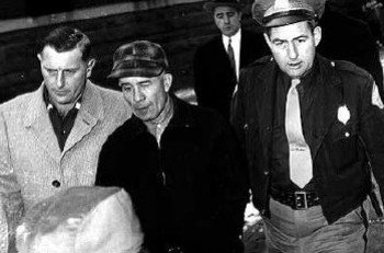 Ed Gein (middle) (late 1950s)