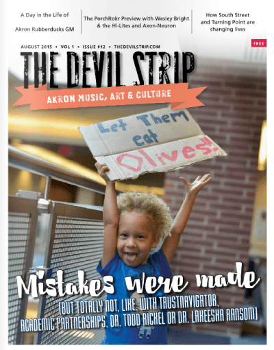 ABOUT THIS ISSUE'S COVER:When photographer Shane Wynn saw what was happening with the protests outside the Board of Trustees meeting, she hopped in her car with her camera, headed to UA's Student Union and started snapping photos. This one, of 3-year-old Jahara, was one of our favorite shots. (Find more, like the feature image on this story, in the back of the issue.) Thank you, Shane!