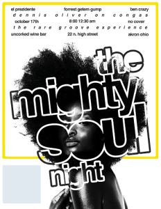 mighty soul night oct