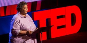 Roxane Gay speaks at TEDWomen2015 - Momentum, Session 2, May 28, 2015, Monterey Conference Center, Monterey, California, USA. Photo: Marla Aufmuth/TED