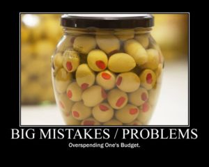 Big Mistakes - Olives