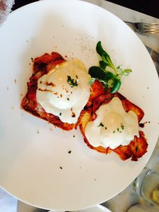 Blue Door: Croque Madame