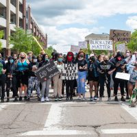Akron protest organizer keeps showing up, derailing protests and spreading conspiracy theories