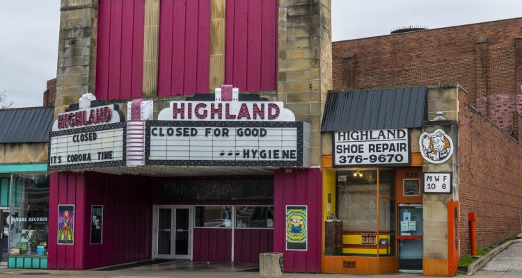Movie Theater in Highland Square