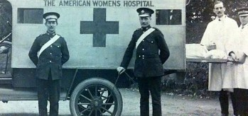 Paignton American Women's Hospital. Photograph courtesy of Torbay Library Services