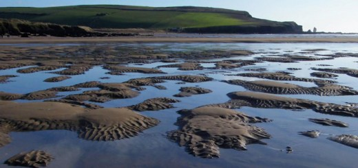 Image: Bantham Beach at low tide on the South Devon Coast, by Mark A Coleman. Some rights reserved