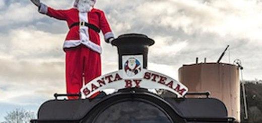 Santa by Steam Devon