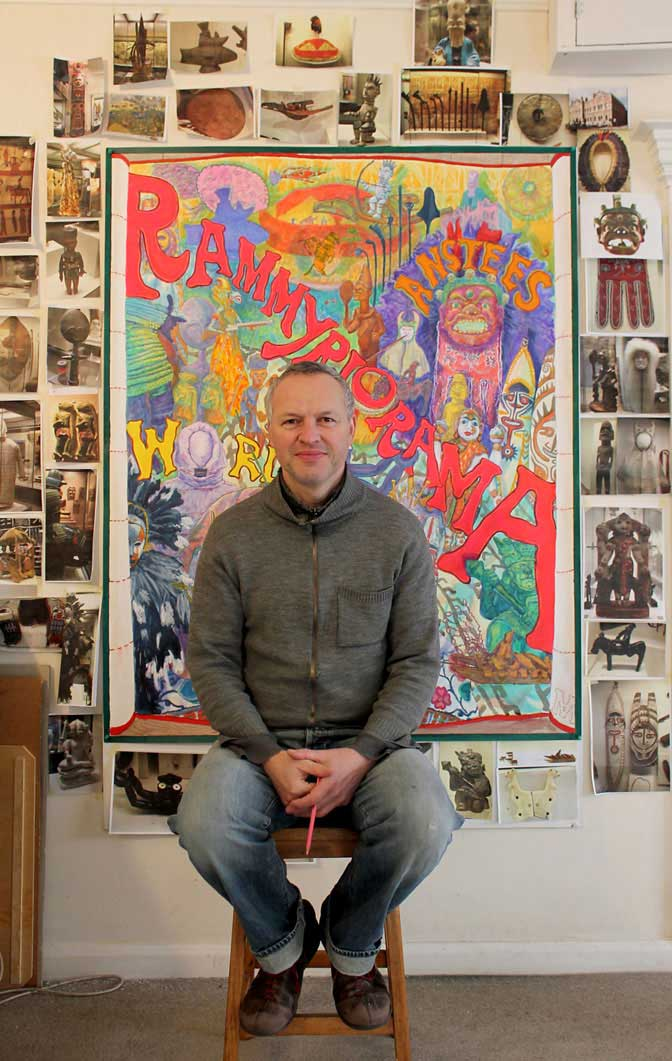 Mark Anstee with Rammyriorama Poster