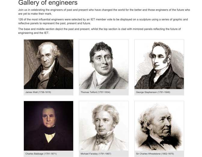 gallery of engineers