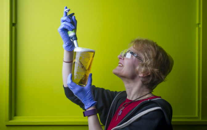 Dr Jay Young: Pint of Science