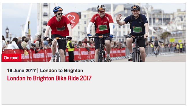 British Heart Foundation London to Brighton