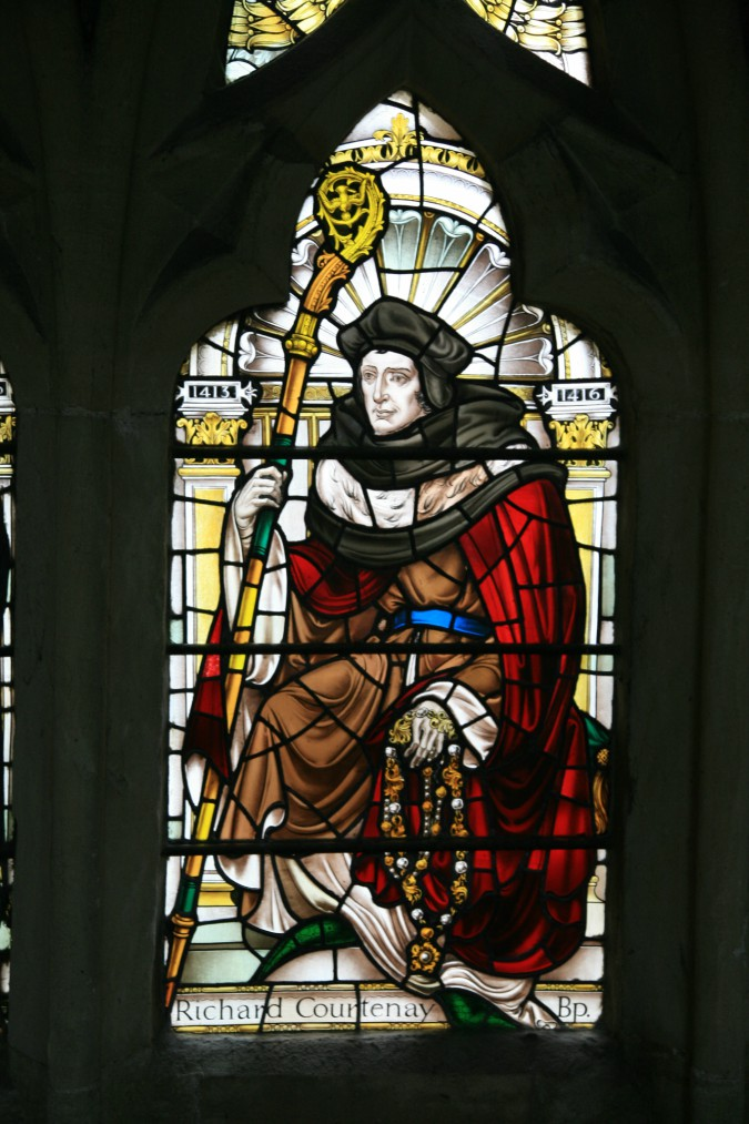 Image of Richard Courtenay courtesy of Exeter Cathedral