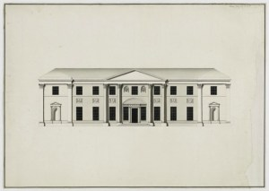 Killerton Mansion design by architect James Wyatt - RIBA