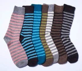 Alpaca Stripy Socks all colsAlpaca Stripy Socks all cols