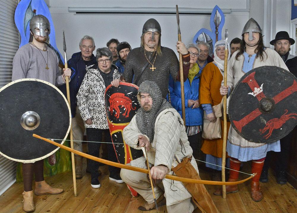 Historical re-enactors