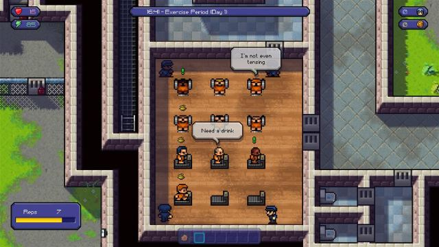 prison escape game, escapists game, xbox one, steam games, prison simulator, the escapists,