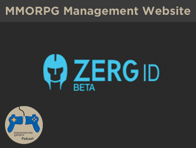 zergid, Zerg ID, Guild Management MMO, RPG Game Management website, Raid group social media,