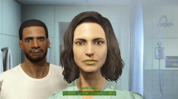 fallout 4, bethesda, character customization, fallout series,, fallout ps4,