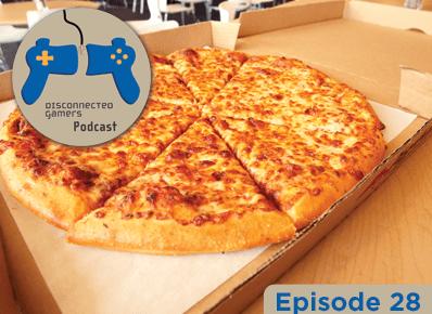 gaming podcast, pizza, dominos, thin crust, deep dish, playstation 4,