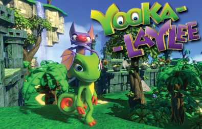 yooka laylee, yooka-laylee, banjo kazooie series, rare n64 games, playtonic games, kickstarter, buddy action platformers,
