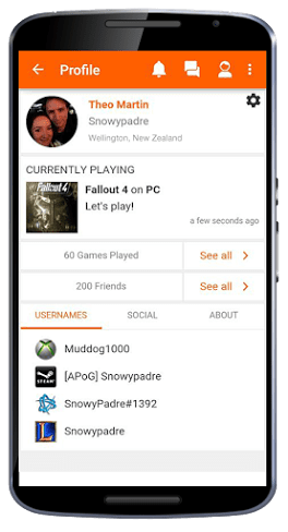 leaping tiger gaming app, social media app for gamers, leaping tiger app,