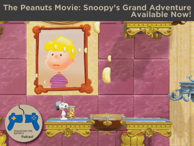snoopys grand adventure, the peanuts movie, peanuts movie game, charlie brown christmas, ps4 snoopy games,