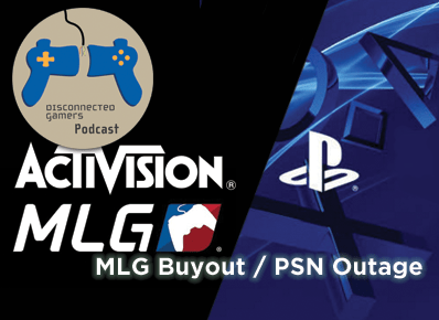 activision mlg purchase, mlg buyout, psn outages, playstation network, ps4, major league gaming,