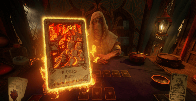 hand of fate 2, defiant development, card based strategy game, steam mac pc, 3d combat game,