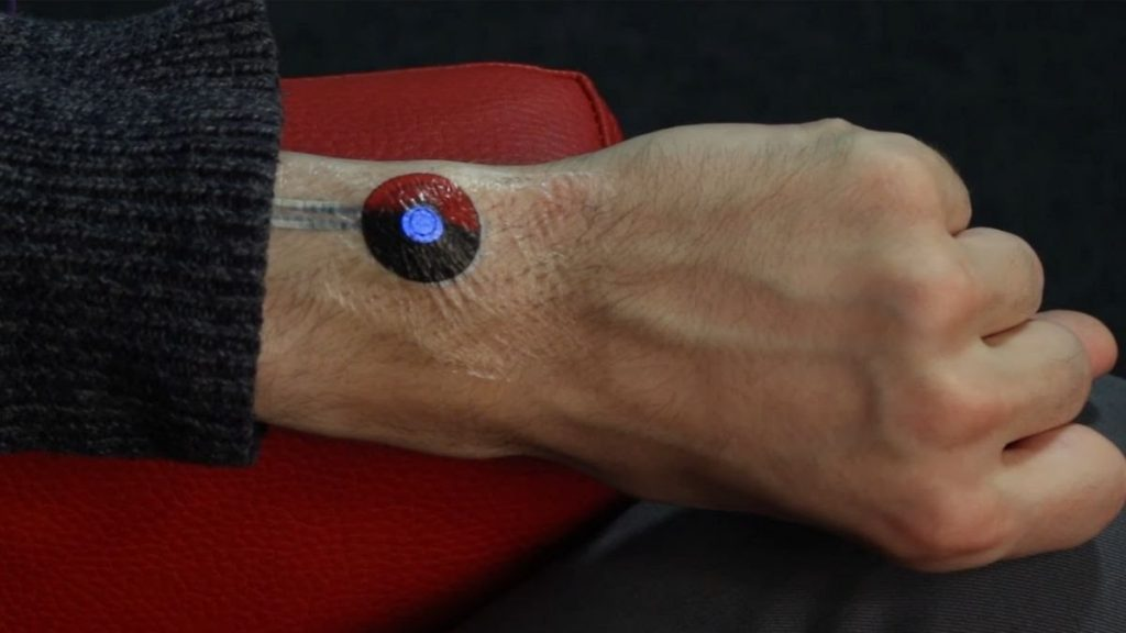 Google is working on temporary tattoos that turn your body into TouchPad