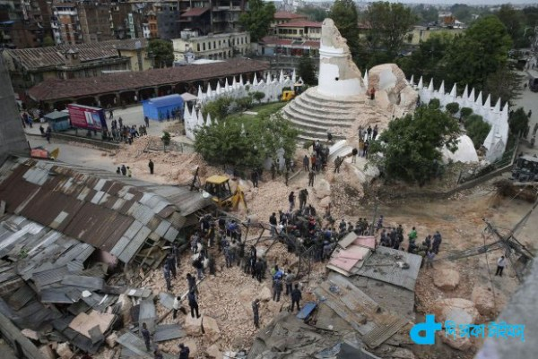 A devastated Nepal and humanity-3