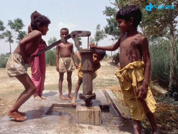 Thirst, water food and rural children