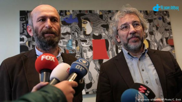 Two Turkish journalists on trial