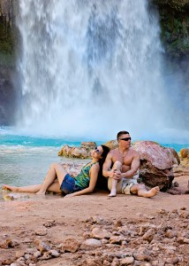 Mark and Tiffani Dhooge, Havasu Falls