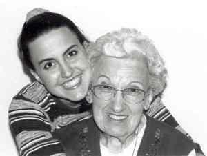 Tiffani Dhooge and Grandma